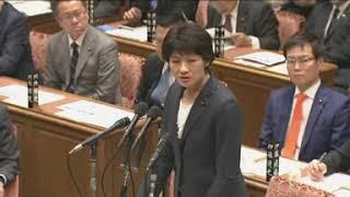 西村智奈美(立憲)統計不正「国民が許しませんよ!」2/5 衆院・予算委