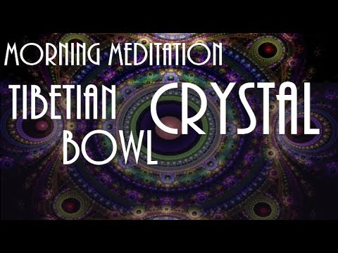 Morning Meditation: Tibetian CRYSTAL BOWL & Mineral sound | Тибетские чаши | Painkiller
