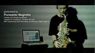 """Me and Mrs. Jones"" -song by Michael Buble, saxophone instrumental by Purwanto Nugroho"