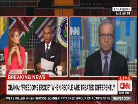 CNN Dr Jason Johnson on POTUS Obama's Press Conference in Kenya 7/25/15