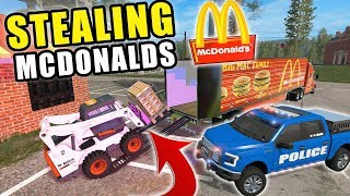 ARRESTING HURRICANE LOOTERS IN THE MIDDLE OF THE STORM! POLICE CHASE | FARMING SIMULATOR 2017