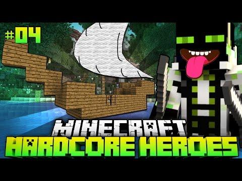 Dein SCHIFF?! MEIN SCHIFF!! - Minecraft Hardcore Heroes 3 - #04 [Deutsch/HD]