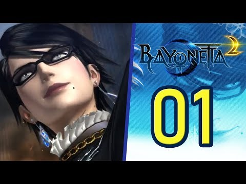 "Bayonetta 2 -  ""You're putting on quite a show, little magician.."" Ep 01 - Nintendo Switch"