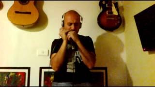 Tablatura (en descripción) Siguiendo la luna - Armónica - Los Fabulosos Cadillacs