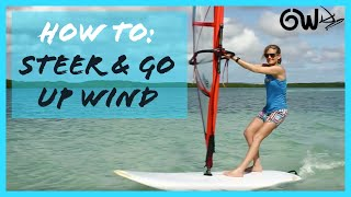 Beginner basics Steering Upwind & Downwind