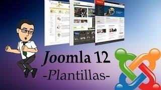 Curso Básico de Joomla 12 -Instalar y gestionar plantillas-