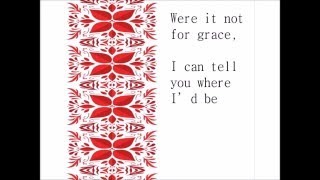 Were It Not For Grace -Instrumental with Lyrics -by Larnelle Harris