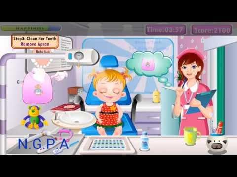 Nursery game baby hazel toothache. Permainan anak mengobati sakit gigi