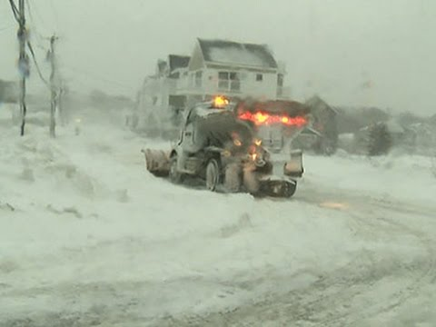 Latest Storm Wallops Massachusetts Coast