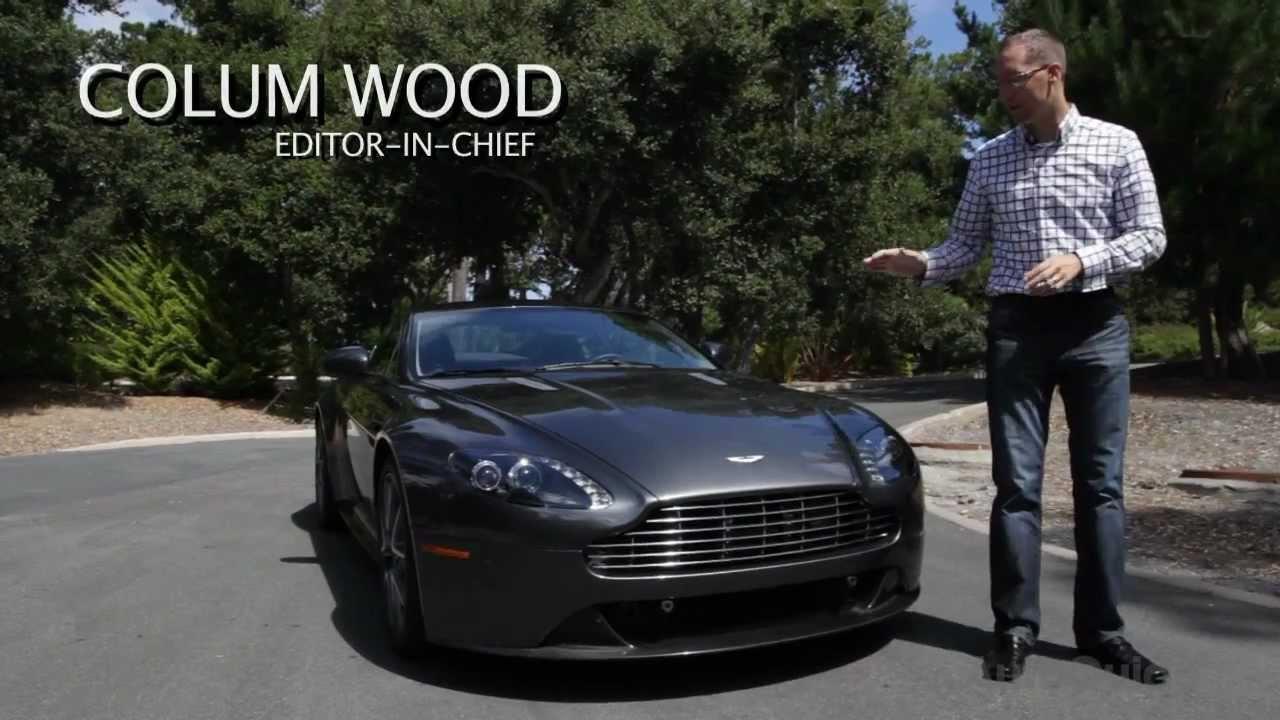 2012 Aston Martin Vantage S Review Youtube