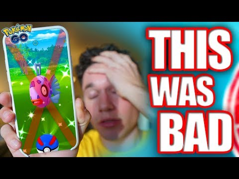 This Was the HARDEST Event in Pokémon GO History... (Shiny Feebas Day) thumbnail