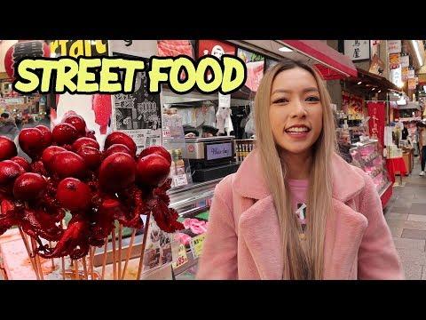 Japanese Food Market Tour   Kuromon Market