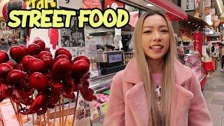 Japanese Food Market Tour | Kuromon Market