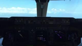 Полет на Тигре из Москвы в Сочи Боинг 747-400 Авиакомпания Трансаэро