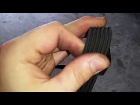 2011-2015 Dodge Challenger Pentastar 3.6L V6 Engine - Checking Serpentine Accessory Belt