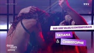 DALS S08 - Sur un Contemporain/Valse, Tatiana Silva et Christophe Licata (Requiem pour un fou)