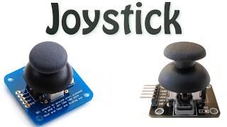 روبوت (فهم ال joystick وطريقة عملة و كيفية استخدامة) how does it work joystick
