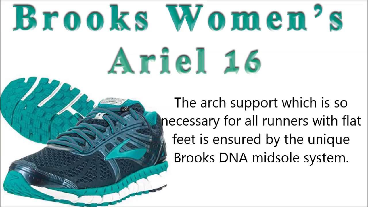 38e6557559031 Womens running shoes for flat feet - YouTube