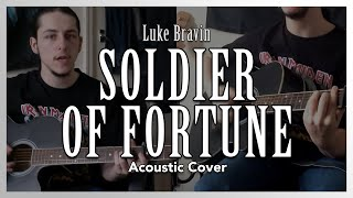 """Soldier of Fortune"" (Acoustic Deep Purple Cover) - Luke Bravin"