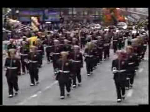 Elida High School Marching Band in chicago's thanksgiving pa