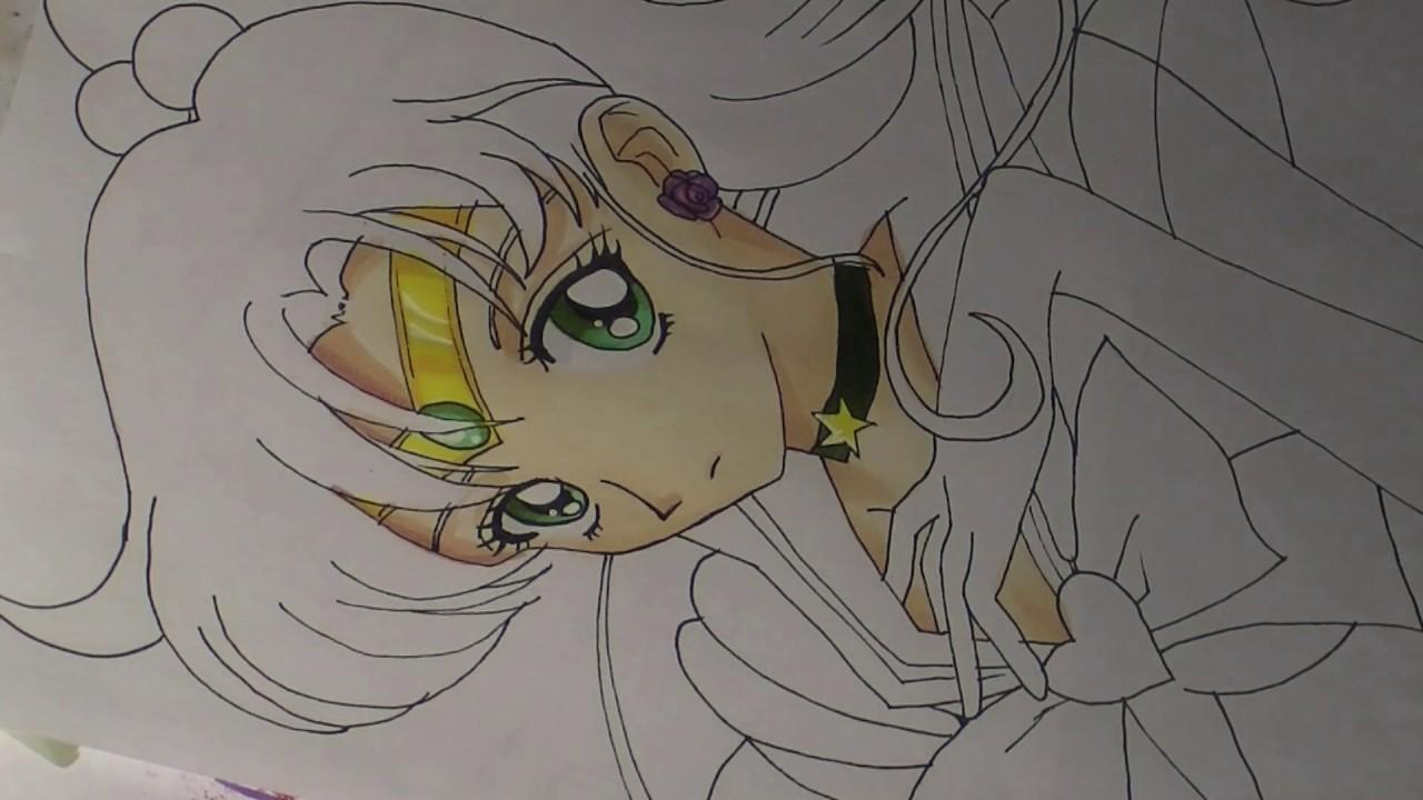 Collab  Drawing Sailor Jupiter  Kino Makoto  From Sailor