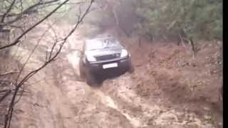 Ssangyong Rexton off-road 4x4 mud mire