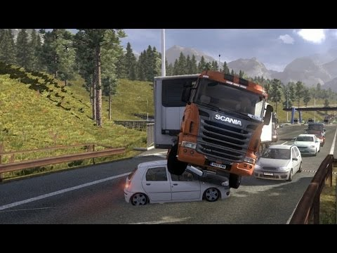 Euro Truck Sim 2 - Beer, Crashes, Karaoke!