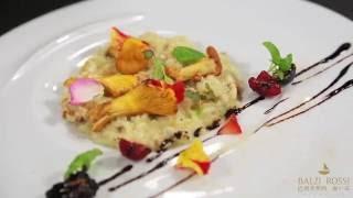 Видеоурок по приготовлению ризотто с лисичками в исполнении шефа ресторана Balzi Rossi