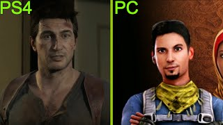 Uncharted 4: A Thief's End vs. Unearthed: Trail Of Ibn Battuta Graphics Comparison (PS4 vs. PC)