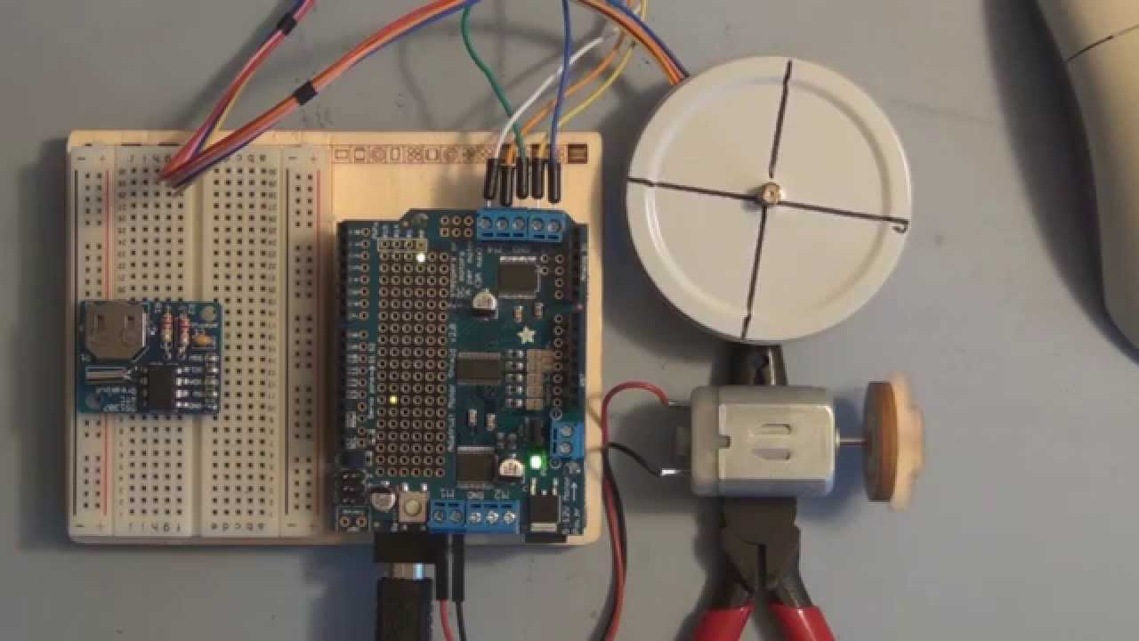 Arduino Uno Dc Motor Speed And Direction Control Using
