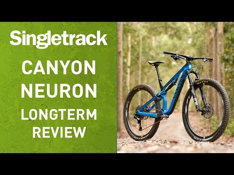 6431d57a1ab 2019 CANYON NEURON CF REVIEW | A Longterm Test Of Canyon's New Carbon Trail  Bike