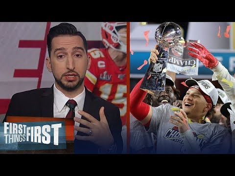 Nick Wright celebrates Kansas City Chiefs 1st Super Bowl win in 50 years   NFL   FIRST THINGS FIRST