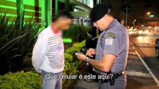 Policiais da Rota Abordam Indivíduos Suspeitos