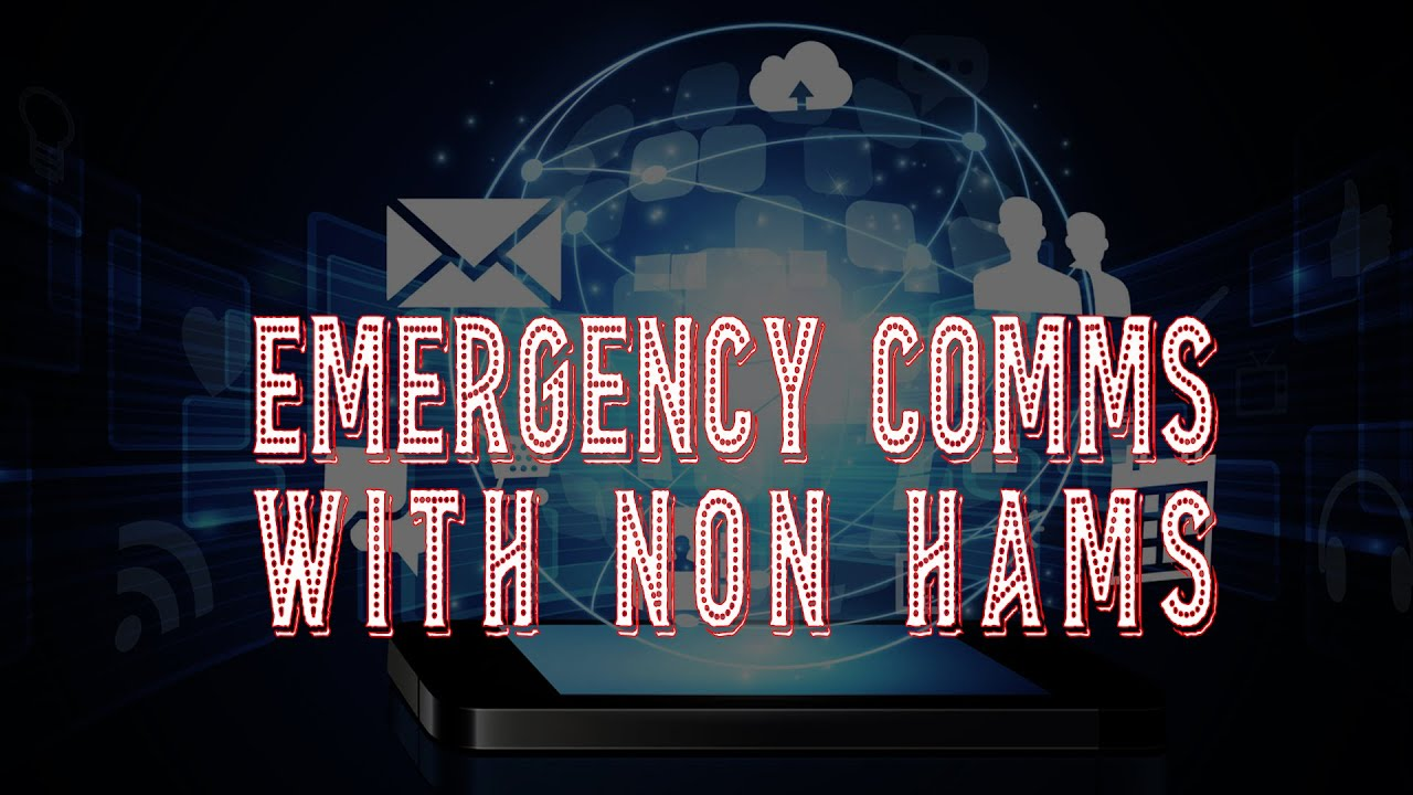 Download Emergency Comms with Non Hams :: Text Message Email Ham Radio