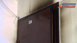 Пожар. Северодвинск(В Северодвинске сгорела квартира., 2014-03-20T13:22:29.000Z)