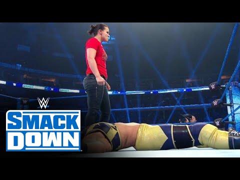 HINDI - Shayna Baszler ne Bayley par kiya ek shaatir hamla: SmackDown, Nov. 2, 2019