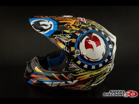 Fly Racing F2 Carbon Dragon Alliance Helmet 360