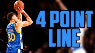 WHAT IF THE NBA ADDED A 4 POINT LINE? thumbnail