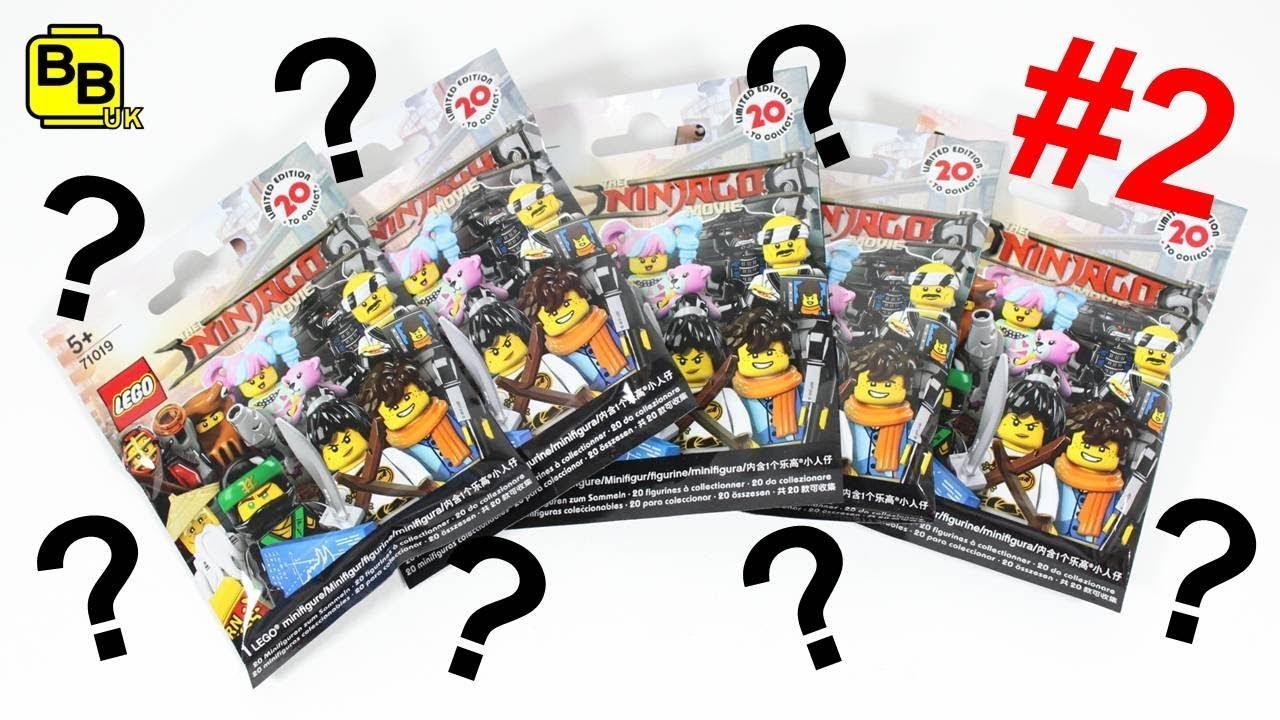 LEGO NINJAGO MOVIE MINIFIGURE SERIES BLIND BAG OPENING #2 ...