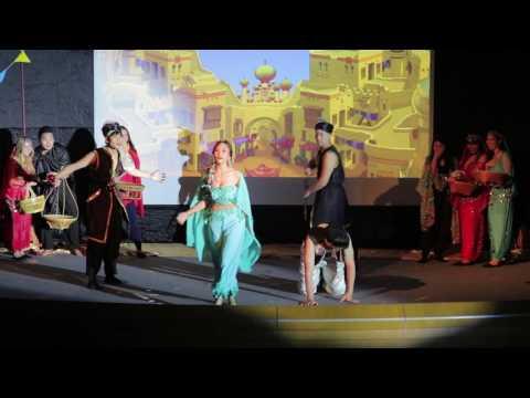 Aladdin the musical - MUIC - 2017