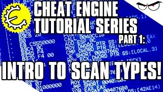 Cheat Engine 6.4 Tutorial Part 1: Introduction to Scan Types