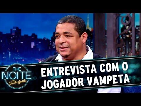 The Noite (11/05/16) - Entrevista com Vampeta