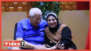 مش هتصدق علاقة الحب بين فاطمة عيد وزوجها وأسرار لأول مرة مع فينك يا نجم