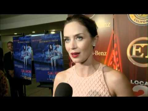 Emily Blunt Salmon Fishing in the Yemen Interview-Palm Springs Festival