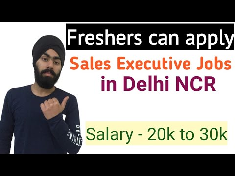 Sales Executive Job In Delhi NCR | Jobs for Freshers | Jobs