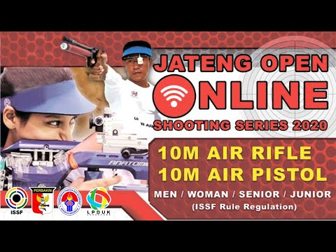 Tayangan Pertandingan Jateng Open Online Shooting Series 2020