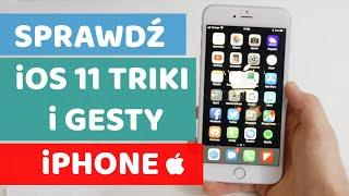 iOS 11 triki i gesty iPhone