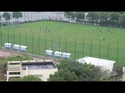 Gary White Football China , Shanghai Club Training Session