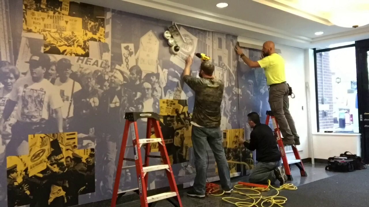 wall mural for art aids america chicago youtube wall mural for art aids america chicago