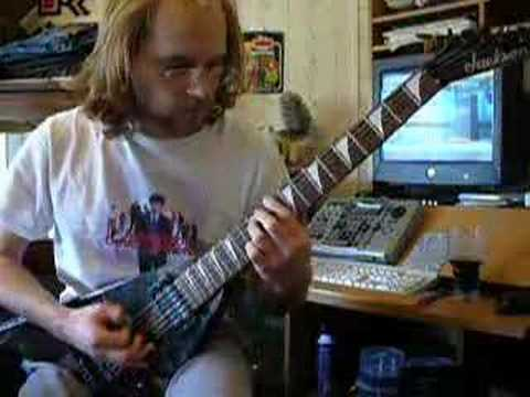 Cradle of Filth - Mannequin - rhythm guitar